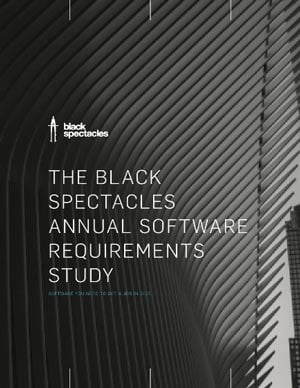 THE BLACK SPECTACLES SOFTWARE REQUIREMENTS SURVEY